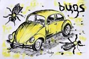 Bugs Print by Sladjana Endt