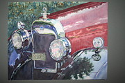 Buick Paintings - Buick at Parkwood by Ruth Greenlaw