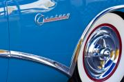 Blue Buick Photos - Buick Century Wheel by Jill Reger