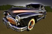 Antique Automobiles Posters - Buick-eight Poster by Jerry Golab