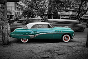 Blue Buick Photos - Buick Eight Roadmaster by Yhun Suarez