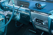 Truck Detail Prints - Buick Electra Interior Print by Bob Christopher