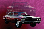 Buick Framed Prints - Buick GS Framed Print by Jim  Hatch