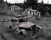 Old Cabin Photos - Buick by Leland Howard