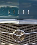 Blue Buick Photos - Buick Special 1956. Miami by Juan Carlos Ferro Duque