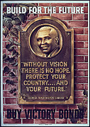 George Washington Carver Metal Prints - Build For The Future Metal Print by Purcell Pictures