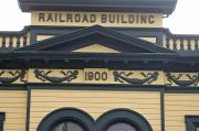 Painted Details Prints - Building At Klondike Gold Rush National Print by Michael Melford