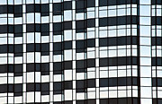 Offices Photo Framed Prints - Building Blocks Framed Print by Dan Holm