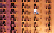 Apartment Photo Prints - Building facade Print by Carlos Caetano