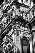 Old Building Framed Prints - Building Faces Framed Print by John Rizzuto
