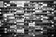 Air Conditioner Prints - Building Print by Pollobarba Fotógrafo
