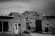 Jason Neely Acrylic Prints - Buildings at Taos Pueblo Acrylic Print by Jason Neely