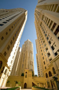 Tall Buildings Prints - Buildings in Dubai Print by Charuhas Images