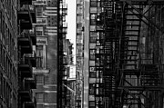 Chicago Art - Buildings by Romeo Banias