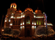 Bulgaria Originals - Bulgarian Orthodox cathedral in the city Varna  by Anemoone S