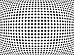 Bulge Dots Print by Michael Tompsett