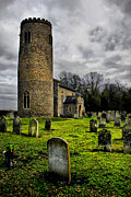 Christian Poster Acrylic Prints - Bulging St John the Baptist  Morningthorpe Acrylic Print by Darren Burroughs