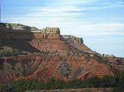 Outlook Paintings - Bull Canyon by Doug Quarles