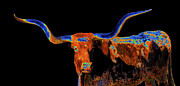 Abstract Bull Originals - Bull II   14616 by Guy Whiteley