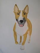Puppies Originals - Bull Terrier by Joette Watson