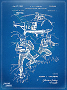 Helicopter Art - Bulletproof Patent Artwork 1968 Figure 15 by Nikki Marie Smith