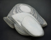 Form Sculptures - Bullseye Stone by Lonnie Tapia