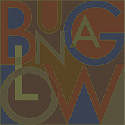 Bungalow Prints - Bungalow Type Print by Geoff Strehlow
