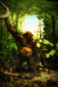 Gorilla Digital Art - Bungle In the Jungle by Bill Cannon