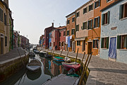 Peaceful Scene Framed Prints - Burano - Venice - Italy Framed Print by Joana Kruse