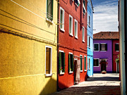 Gregory Dyer - Burano Island - Colorful Houses