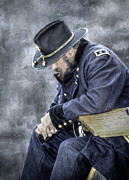 Army Of The Potomac Art - Burden of War Civil War Union General by Randy Steele