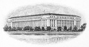 Bureau Prints - Bureau Of Engraving Print by Granger