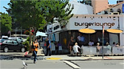 Downtown Digital Art Originals - BurgerLounge La Jolla by Russ Harris