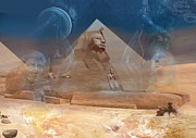 Sphinx Pyrography Posters - Buried Treasure Poster by Keith Double
