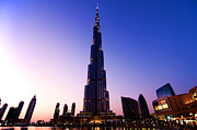 United Arab Emirates Prints - Burj Khalifa Print by Fabrizio Troiani