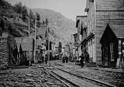 Old Miner Framed Prints - BURKE IDAHO GHOST TOWN in its PRIME Framed Print by Daniel Hagerman
