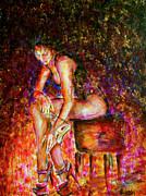 Burlesque I Print by Nik Helbig