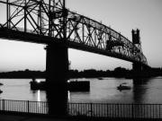Beauty Mark Digital Art Posters - Burlington Bristol Bridge  Poster by D R TeesT