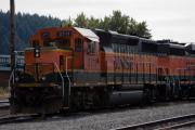 Trains Photos - Burlington Northern Railroad by Robert  Torkomian