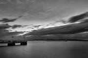 Champlain Photos - Burlington Pier by Mike Horvath