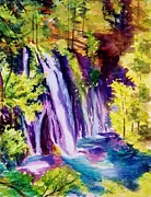 Therese Fowler-Bailey - Burney Falls Summer