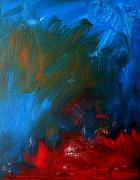 Rage Paintings - Burning Desire by Julie Lueders