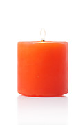 Aromatherapy Originals - Burning Red Candle by Atiketta Sangasaeng