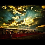 Maura Aranda - Burning Skies #sky...