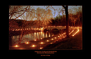 Memorial Illumination Framed Prints - Burnside Bridge 96 Framed Print by Judi Quelland