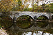 Antietam Framed Prints - Burnside Bridge Framed Print by Brian M Lumley