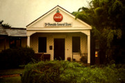 Ascension Parish Prints - Burnside General Store Print by Scott Pellegrin
