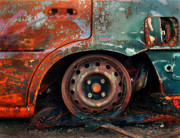 Car Crash Photos - Burnt Out by Tim Nichols
