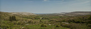 Burren Photo Acrylic Prints - Burren View Panorama County Clare Ireland Acrylic Print by Teresa Mucha