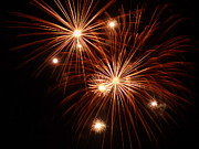 4th July Metal Prints - Burst 5 Metal Print by Cynthia Lassiter